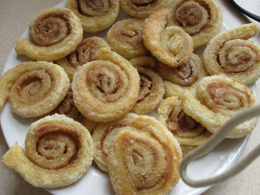 Baby Palmiers from my recipe