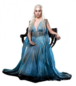 Daenerys Blue Dress