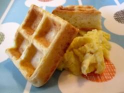 Easy Cheesy Waffles