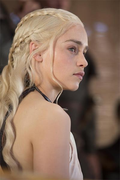 Daenerys Targaryen Hairstyle