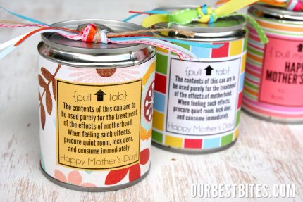 Homemade Tin Can Treats