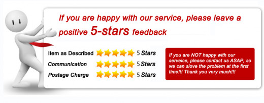 Adding a small note like this one will encourage and remind buyers to leave positive feedback
