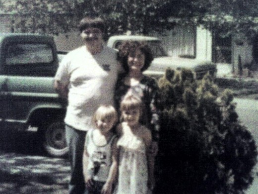 Stephanie - Mum, Marvin - Dad, Jeb - Me, & Tara - Sister