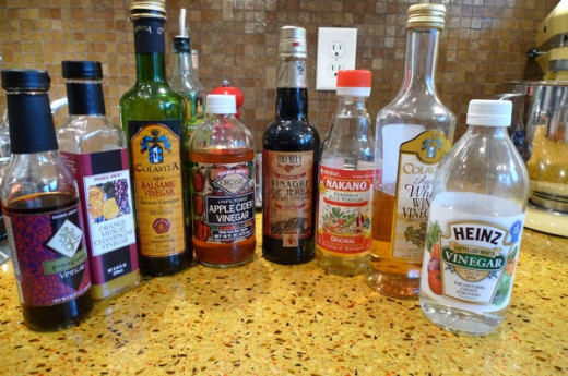 Various Vinegars