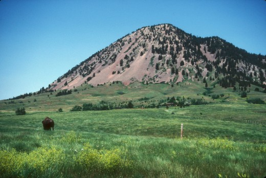 Bear Butte, South Dakota.