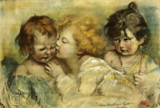 Dawn Hudson /vintage picture of children public