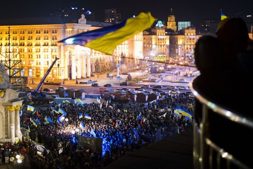 Euromaidan in Kyiv: Thousands protest