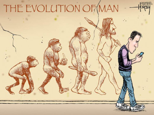 Darwinism did state that we can go backwards intellectually as a society, just as easily as we can move forward and create meaningful progress.