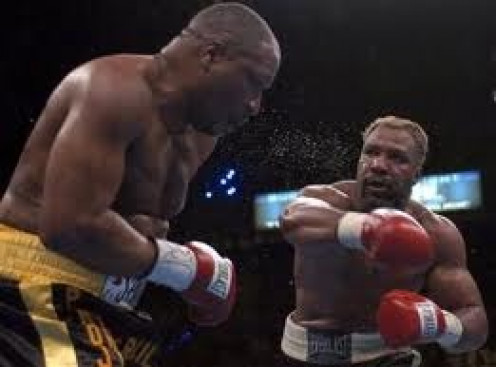 Shannon Briggs possesses knockout power which he used to destroy Ray Mercer.
