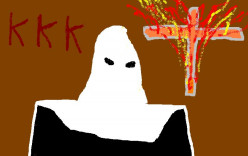 The dreaded KKK claimed to be Protestant American Christians.