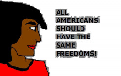 Freedom and equal rights were themes in Star Trek.
