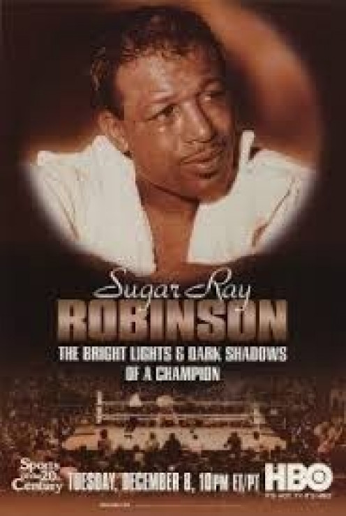 Sugar Ray Robinson, seen on this HBO Documentary poster, is considered pound for pound the best boxer in the history of the sport.