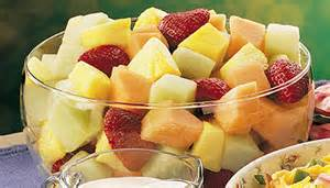 basic melon strawberry fruit salad