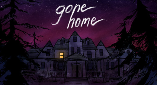 Gone Home, the interactive exploration simulator.