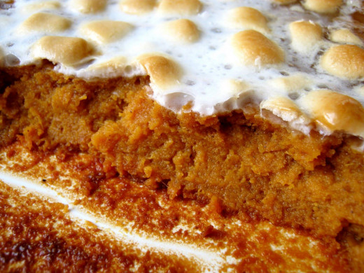 Check Out The Great Sweet Potato Casserole Recipe Below