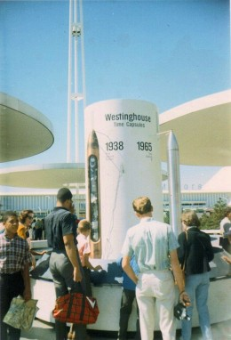 The Westinghouse Pavilion which featured the time capsule.
