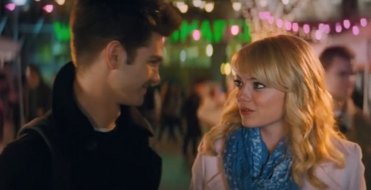 The story of Peter Parker and Gwen Stacy's on-again/off-again relationship was the strong emotional backbone of the movie.