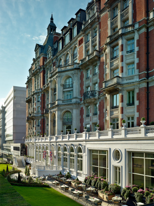 mandarin oriental hotel knightsbridge - here you'll find  Heston Blumenthals restaurant Dinner
