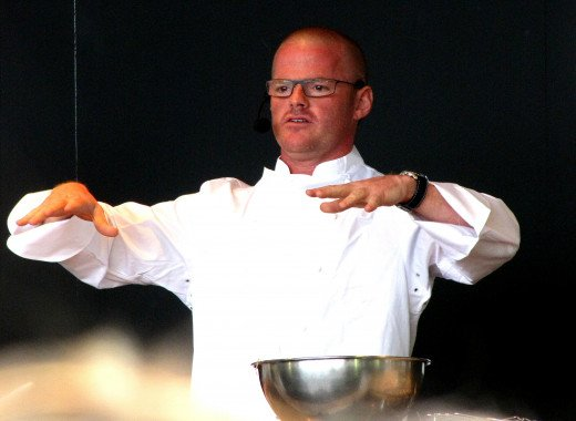 Heston Blumenthal works his magic -