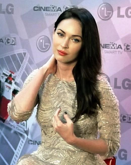 : Megan Fox in LG Brings Cinema 3D TV To New Markets 2011.