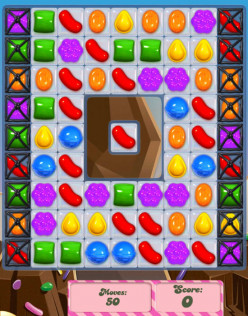 Candy Crush Level 45 - Infuriating Center Jelly