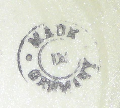 Stamped Made in Germany Mark