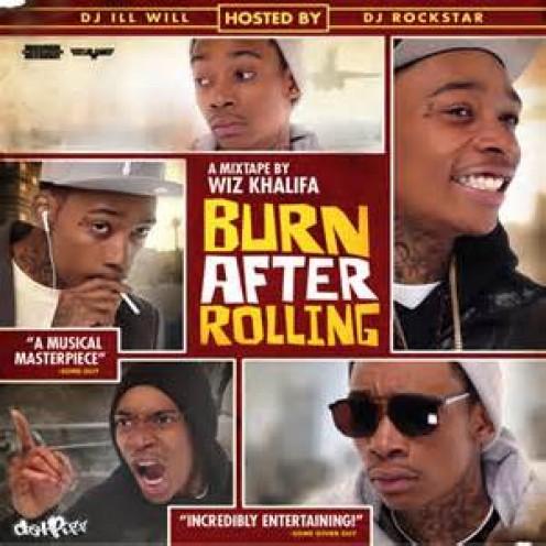 Burn After Rolling Mixtape by rapper Wiz Khalifa.