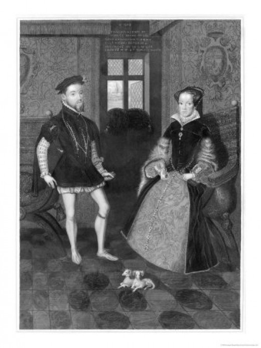 Mary I of England & Philip II of Spain
