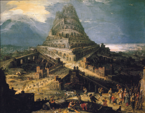 Artist Rendition - The Tower of Babel