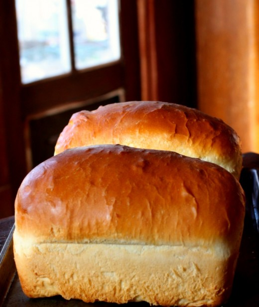 Learning to make bread is one step toward self-sufficiency.