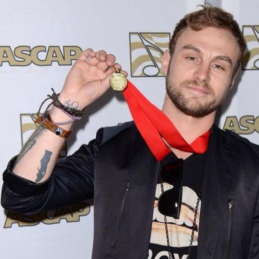 Nicholas Brian Marsh aka PUBLIC @ 2013 ASCAP Awards