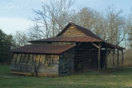 Run down barn in Statesville, N.C.