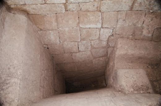 Mayan stone bath.