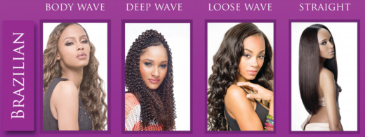 Brazilian hair is the most popular hair bought  that blends with almost everyone's hair type.