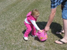 Easter Egg hunting....so much fun!