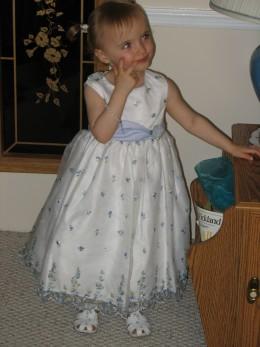 A pretty dress for a pretty girl