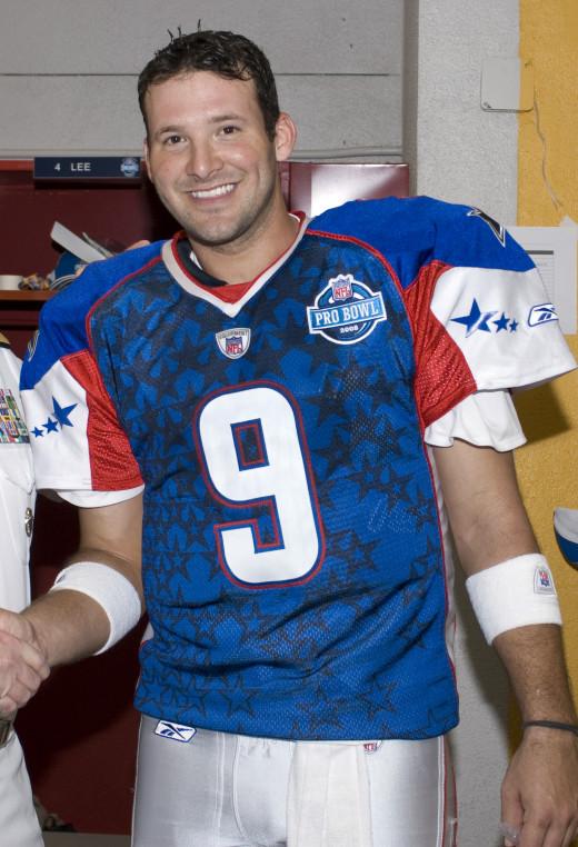 Despite his problems, Tony Romo is a talented QB.