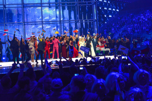 Eurovision Song Contest winners of the first semi-Final.