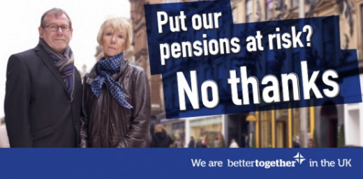 Better Together 'Pension Risk' billboard