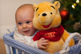 Creating a scrapbook for your baby's firsts - such as first Christmas is a wonderful way to remember their first year. Image is Public Domain from Pixabay