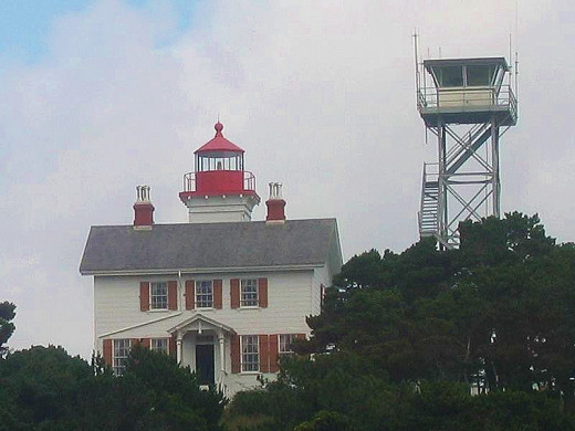 A few more miles up the road you will find the historic Yaquina Bay Lighthouse first put into use on  November 3, 1871
