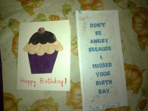 Cupcake card & Simple Card