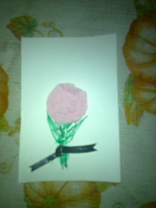 Paper Napkin Card