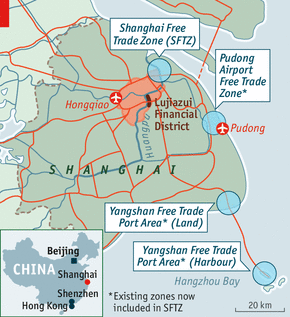 The Shanghai Free Trade Zone