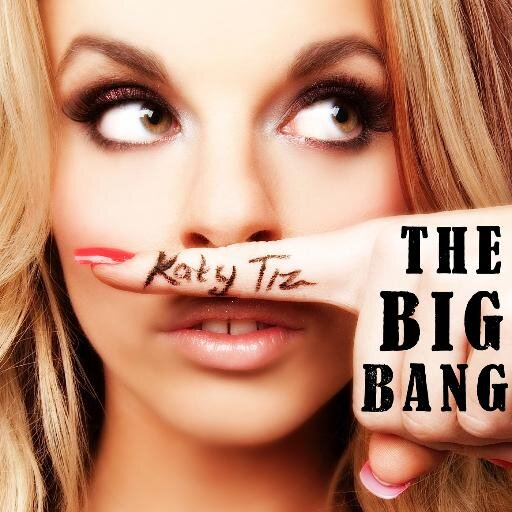 "Katy Tiz, the woman who sings ""The Big Big Bang"""