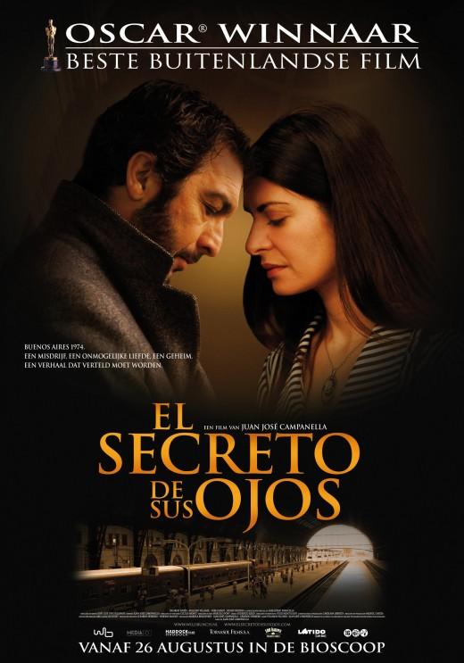 El secreto de sus ojos movie poster.