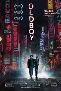 Oldeuboi movie poster.