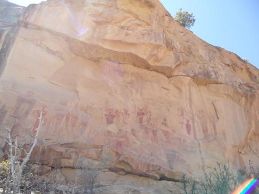 Sego Canyon Rock Art