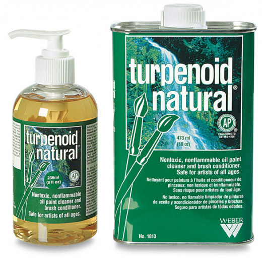 Turpenoid Natural, an eco-friendly turpentine substitute