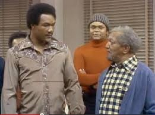 George Foreman guest starred on an episode of Sanford and Son. He also had a short lived sitcom himself in the 1990's.